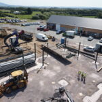 Restuarant Construction Work Underway at Shrewsbury Business Park