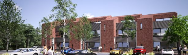 SBP, CG Pooks - One Anchorage Ave CGI sketch. Courtesy of Walker Hay Architects